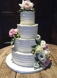 4 Tier Rustic Wedding Cake
