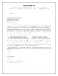 Sample Risk Management Cover Letter Government Job Examples Top Writing A For Resume