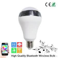 cheap new smart bulb bluetooth speaker bulb e27 led rgb light