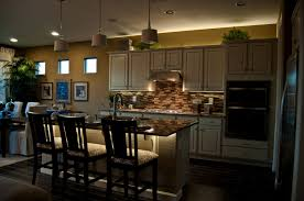kitchen cabinet lighting an important element in kitchen decor