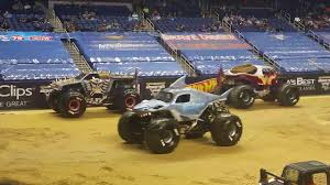 Monster Jam 2018 PIT PARTY-INTROS. Greensboro NC - YouTube