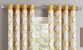 Tahari Home Curtains Yellow by Curtains Curtains Overstock Overstock Shower Curtains Navy