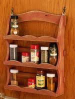spice wall rack woodworking plans and information at