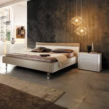 100 Hulsta Bed Double Bed Contemporary Upholstered With Upholstered Headboard