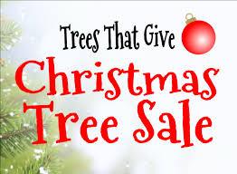Tree Sale Words Graphic
