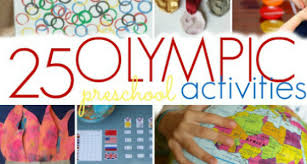 Activities To Celebrate The Olympics With Preschool