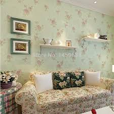 rustikales wohnzimmer schlafzimmer tapete romantische blumentapete vliestapete