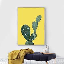 custom druck poster kaktus dekor wand rahmen bild für wohnzimmer buy wall picture for living room wall frames picture cactus decor product on