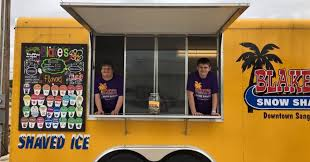 Man With Down Syndrome Opens Cool Snow Cone Shack | HuffPost Snow Cone Express Opens In Big Creek Crossing Kona Ice Of Friscoallen Food Trucks In Frisco Tx Truck Selling Cream Stock Photos Snoco Tuscaloosa Roaming Hunger Local Man Uses Shaved Ice Truck To Help Raise Money For Ul Lafayette Allentown Area Getting Its Own 85 Ft Despicable Me Minions In Snow Cone Truck Airblown Lighted Shaved 12ft Apex Specialty Vehicles Mobile Cafe St Louis Foodtruckrentalcom Canby Businessman Fulfills Dream With Snow Cone News Sports Wikipedia