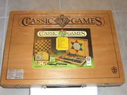 Image Is Loading 80 039 S Vintage WOODEN CASE 10 CLASSIC