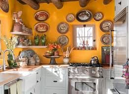 Mexican Kitchen Decor With Decorative Wall Plates