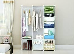 Portable Clothes Closet Wardrobe by Cosyhome Freestanding Storage