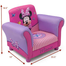 Disney Minnie Mouse Upholstered Chair - Toys