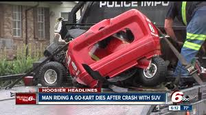Man Riding Go-kart Killed In Crash With SUV On Indianapolis' East ... Go Karting Grand Prix Group Experience In Somerset Days Kart Monster Truck Youtube Rat Rod Fridge Gokarts Princess Auto Heres The First Look At Googles Selfdriving Semi Trucks Nip Around A Track In Karts Proper Presents Gift Ideas Blog Rc Go Kart Nib 7500 Pclick Bangshiftcom Mifreightliner 1956 F100 Kart Classic And Cars Ptoshopped Pinterest Crashes Flips On Jukin Media Coga Truck Battles Corvette And Results Will Surprise You Monster Kit Best Image Kusaboshicom