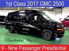 2017 GMC Savana High Top Custom Conversion Van