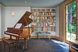 Music Room For Piano Modern Living