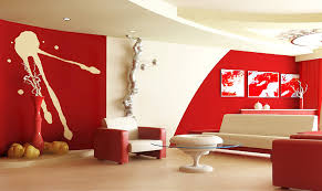 Red Is A Colour That Some People Find Too Overpowering For Their Living Rooms But It Can Be Very Contemporary And Elegant Scheme Against White