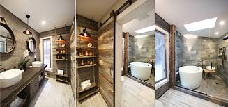 Rustic Bathtub Tile Surround by Whirlwind Rustic Bathroom Renovation Rubble Tile Minneapolis