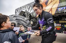 100 Las Vegas Truck Driving School Spreading Hope Monster Truck Driver Sends Positive Message Before