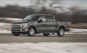 2018 Ford F-150 2.7L EcoBoost V-6 4x2 SuperCrew Test | Review | Car ... Ford Says Electric Vehicles Will Overtake Gas In 15 Years Announces Tuscany Trucks Mckinney Bob Tomes Where Are Ford Made Lovely Black Mamba American Force Wheels 7 Best Truck Engines Ever Fordtrucks 2018 F150 27l Ecoboost V6 4x2 Supercrew Test Review Car 2019 Harleydavidson Truck On Display This Week New Ranger Midsize Pickup Back The Usa Fall 2017 F250 Super Duty Cadian Auto Confirms It Stop All Production After Supplier Fire Ops Special Edition Custom Orders Cars America Falls Off Latest List Toyota Wins Sunrise Fl Dealer Weson Hollywood Miami
