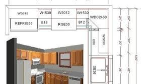 Beautiful L Shaped Kitchen Layout Dimensions 10 X U In