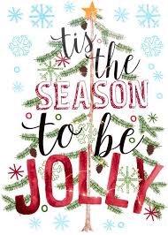 tis the season to be jolly light up wall decal