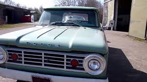 1966 Dodge D100 Truck Survivor