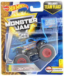 100 Team Hot Wheels Monster Truck Jam 25 Flag Toy At Mighty