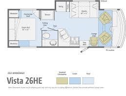 Itasca Class C Rv Floor Plans by Winnebago Vista 26he Review Motorhome Magazine