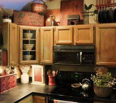 Best Images Rustic Decor Above Kitchen Cabinets Ideas For Space