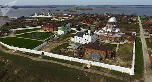 siege unesco cathedral monastery in russia s sviyazhsk gets unesco