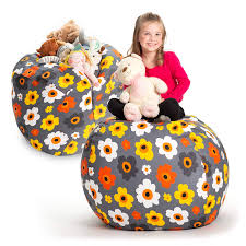 Amazon.com: Creative QT Stuffed Animal Storage Bean Bag Chair ... Amazoncom Jaxx Nimbus Spandex Bean Bag Chair For Kids Fniture Creative Qt Stuffed Animal Storage Large Beanbag Chairs Stockists Best For Online Purchase Snorlax Sizes Pink Unique Your Residence Inspiration Childrens Bean Bag Chairs Ikea Empriendoclub Sofa Sack Plush Ultra Soft Memory Posh Stuffable Ultimate Giant Foam