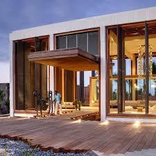 Modern Art Deco House Facade