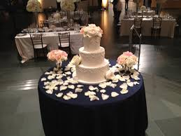Modern Wedding Cake Table Decorations With