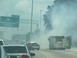 Tractor Trailer Fire Shuts Down I-20 In Augusta - WFXG FOX 54 - News Now