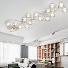 moderne led deckenleuchten warmweiß design küche len lara de techo wohnzimmer esszimmer schlafzimmer licht foyer deckenbeleuchtung