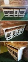 Patio Bistro 240 Instructions by Best 25 Bar On Wheels Ideas On Pinterest Pipe Table Industrial