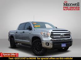 Pre-Owned 2016 Toyota Tundra 4WD Truck SR5 Crew Cab Pickup In Austin ...
