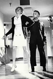 Jamie Lee Curtis Halloween 2 by Yimmy Yayo B U0026w Pinterest Halloween Ii Horror And Michael Myers