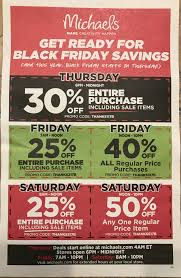 Michaels Black Friday Ad Scan Released - Slickdeals.net
