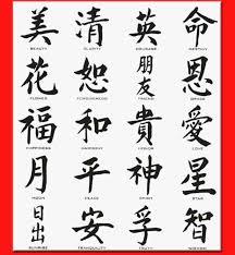 Faith Written In Chinese