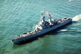Uss Indianapolis Sinking Timeline by Uss Arkansas Cgn 41 Virginia Class Cruiser Usa Late 20th