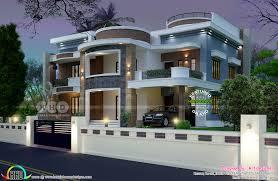 100 Home Designed Astounding 6 Bedroom House Plan Kerala Home Design