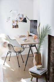 Boho Chic Modern Office Space Stylemepretty