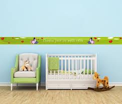 frise murale chambre fille frise murale chambre enfant clikétoile