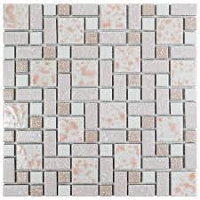 Home Depot Merola Hex Tile by Merola Tile University Pink 11 3 4 In X 11 3 4 In X 5 Mm