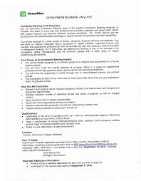 Investment Banking Resume Sample JH6B Extraordinary Objective Examples For Personal Banker Of