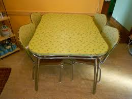 Vintage Kitchen Table Set For Sale Lovely Outstanding Yellow Retro And Chairs Z Glamorous