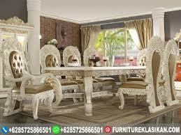 Ortanique Round Glass Dining Room Set by Set Meja Makan Duco Ukir Classic Gambar Set Meja Makan Duco Ukir