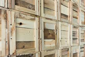 Clean Storage Warehouse With Custom Crates Solutions Made Of Wood Interior Logistics